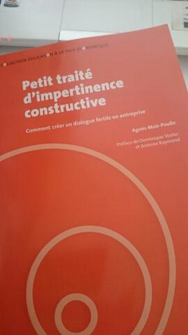 """""""Petit traité d'impertinence constructive"""" d'Agnès Muir-Poulle"""