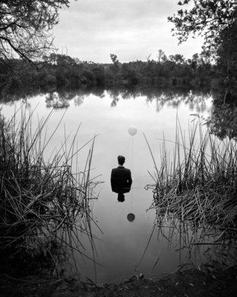 autoportraits Edward Honaker, vivre avec la dépression