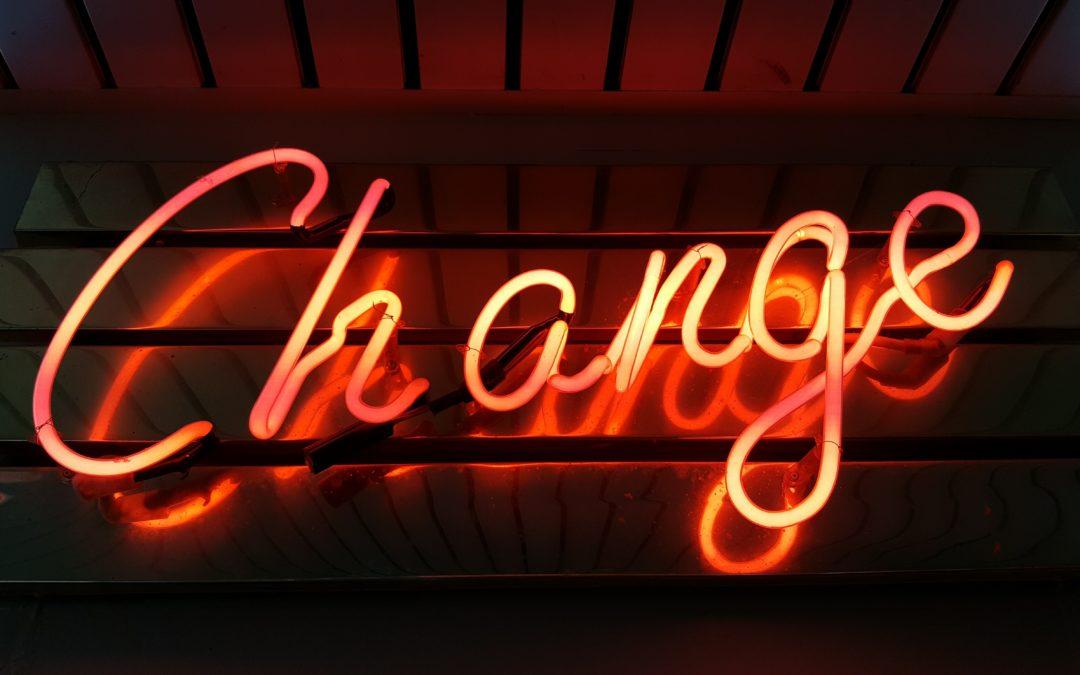 Le changement, une nécessité ?